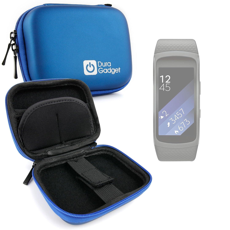 DURAGADGET Estuche Rígido Azul para Smartwatch Samsung Gear ...
