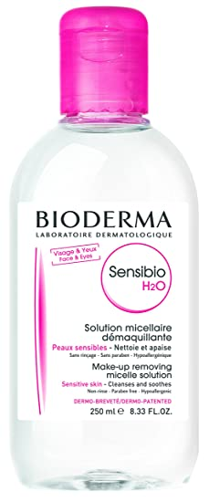 Bioderma Crealine H2o Ultra-mild Non-rinse Face and Eyes Cleanser 250 ml at amazon
