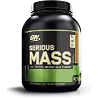 Optimum Nutrition Serious Mass Chocolate Protein Powder Gainer, 2.72 Kilograms