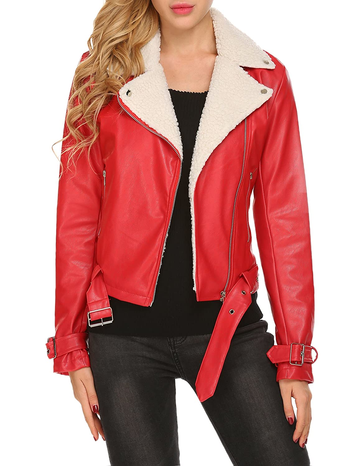 b2e9004b0642 Top 10 wholesale Black Womens Faux Leather Jackets - Chinabrands.com