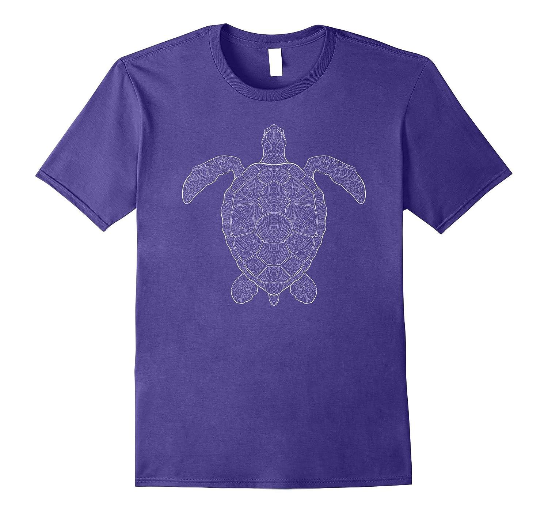 Cute Unique Modern & Trendy Boho Turtle Gift T-Shirt | CUAI-FL