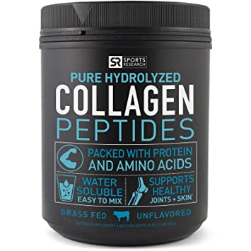 Premium Collagen Peptides (16oz) | Grass-Fed