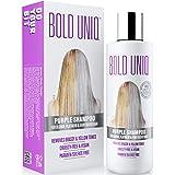 Purple Shampoo for Blonde Hair: Blonde Shampoo Eliminates Brassy Yellow Tones- Lightens Blonde, Platinum, Ash, Silver and Gra