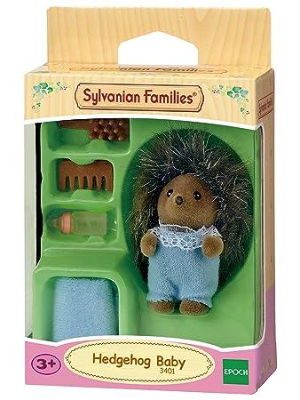 Sylvanian Families - 3401 - Mini-Poupée - Bébé Hérisson - Modèle aléatoire