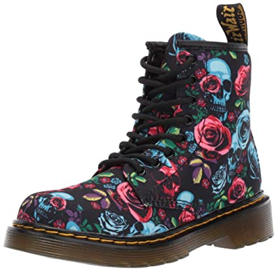 0e016a939a93e Dr. Martens Kid's Collection Girl's 1460 Rose Fantasy Boot (Little Kid/Big  Kid