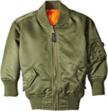 Alpha Industries Little Boys' MA-1 Bomber Jacket