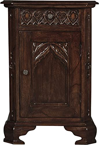 Design Toscano Queensbury Inn Gothic Revival Bedside Table