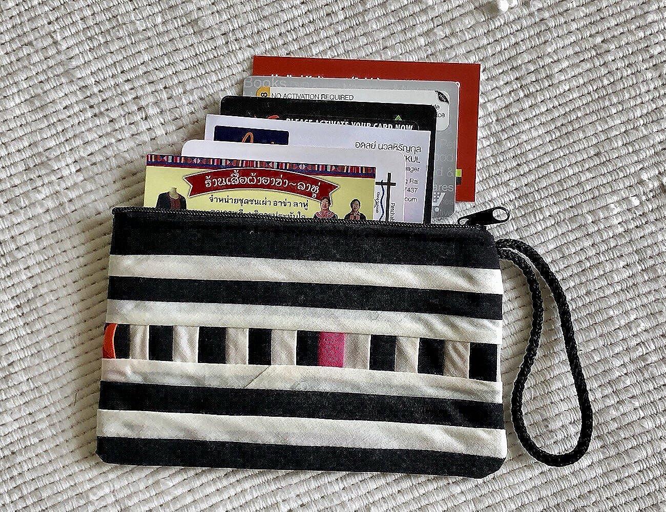 Amazon.com: Pirisa - Monedero de algodón para mujer, hecho a ...