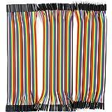 IZOKEE デュポンジャンパーワイヤ PCBブレッドボード用 40ピン オス-メス オス-オス メス-メス 3x20CM 合計120本 ジャンパー線 ジャンパーケーブル