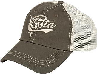 605dfd8cecd Costa Del Mar Retro Trucker Hat with Snap Closure