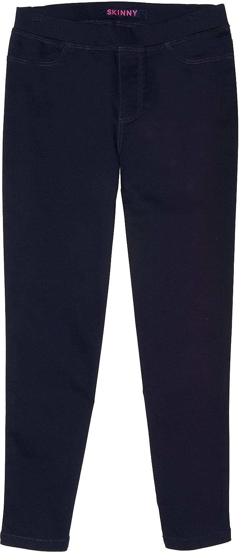 French Toast School Uniform Girls Skinny Pull-On Pants Navy 4