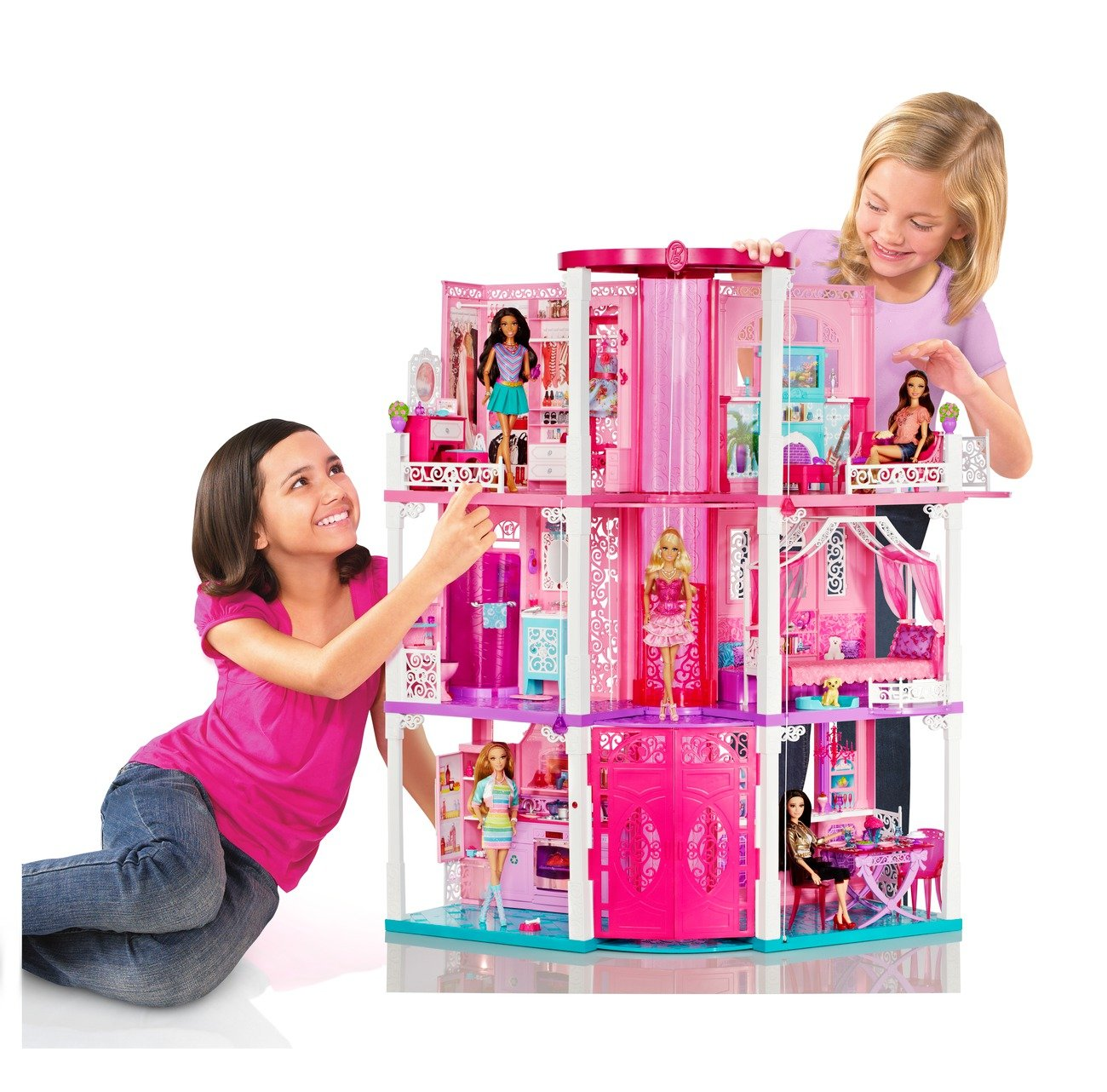 1st dream house furniture amazoncom barbie dream house discontinued by manufacturer toys amp games ashine lighting workshop 02022016p