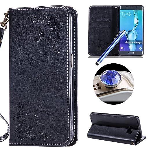 3 opinioni per Etsue Samsung Galaxy S6 Edge Plus Cover Pelle,Samsung Galaxy S6 Edge Plus
