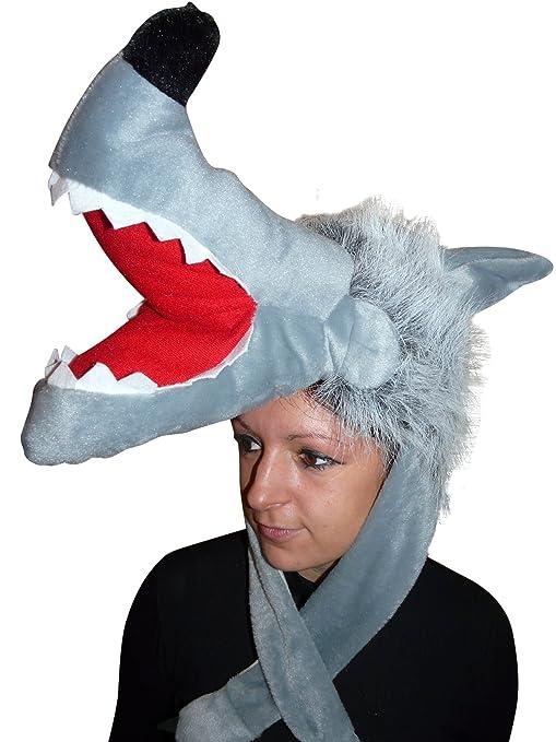 Seruna GmbH F73 Cappello Lupo Costume da Lupo Costume da adulto Costumi  carnevale 012a9f6bceb5