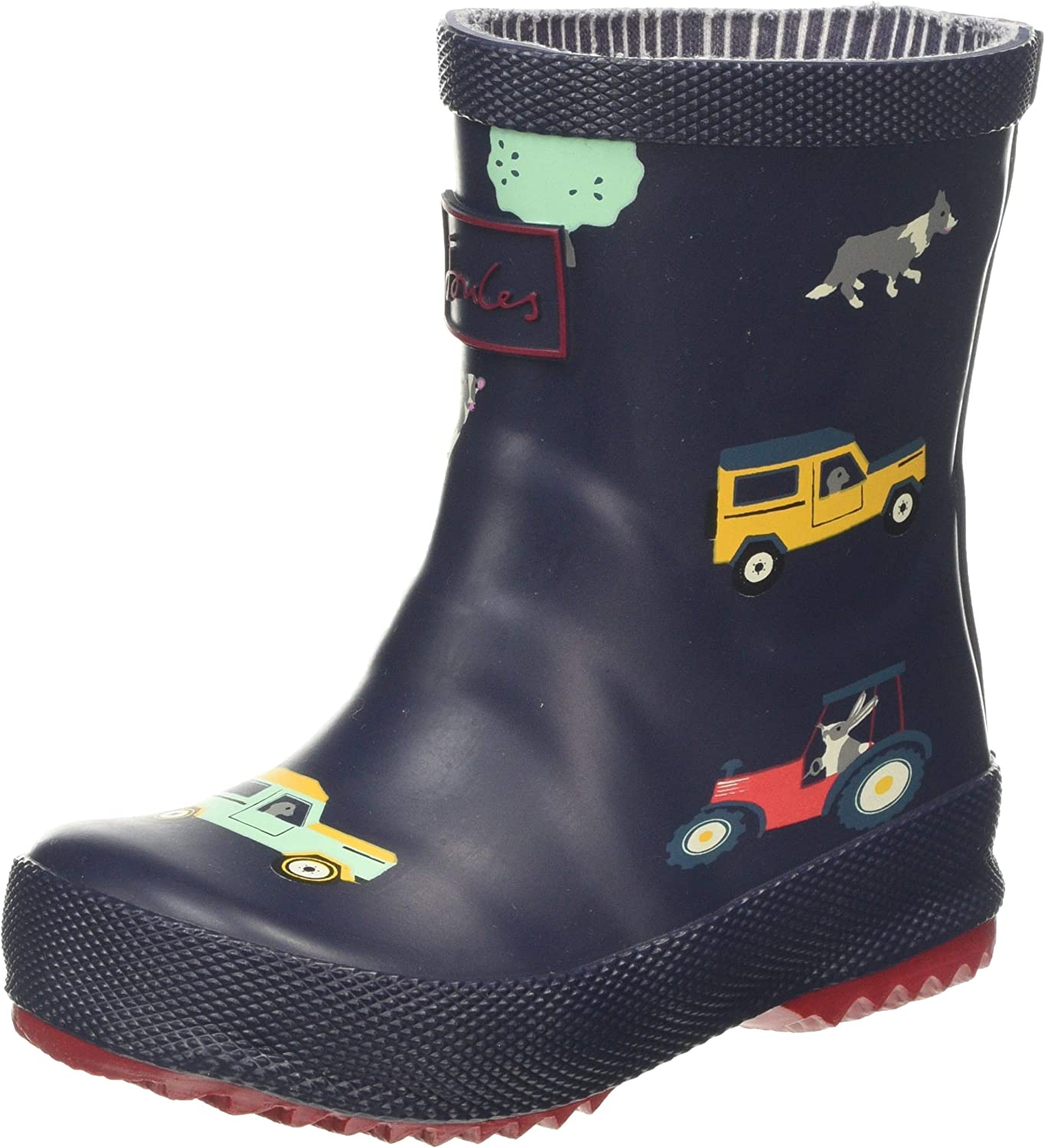 Joules Baby Boys' Welly Print Boots