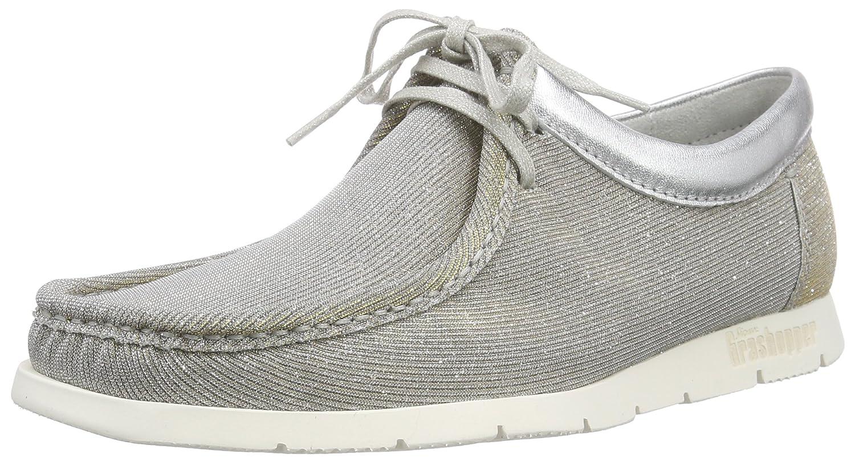 Sioux Grashopper-D-141, Mocasines para Mujer, Beige (Linen/Silber), 42.5 EU: Amazon.es: Zapatos y complementos
