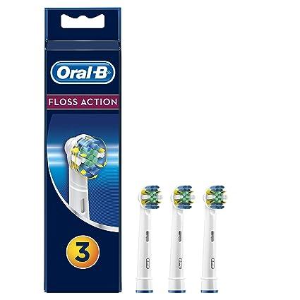 Oral-B FlossAction Cabezal de Recambio Para Cepillo de Dientes Eléctrico 3  Uds. Pasa el ratón por ... 936ce9774a7f