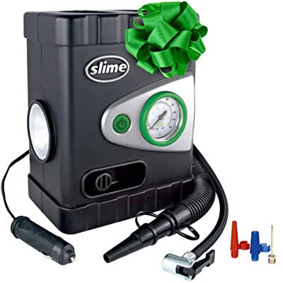 Slime 40034 All-Purpose 12V Dual Raft Pump/Tire Inflator: Automotive