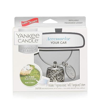 Yankee Candle Seducenti Aromi Kit di Base, Puro Cotone Quadrato