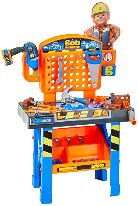 Wondrous Amazon Com Smoby 360600 Bob The Builder Work Bench Toys Gmtry Best Dining Table And Chair Ideas Images Gmtryco