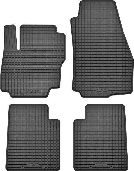 Ko Rubbermat Gummimatten Fußmatten 1 5 Cm Rand Geeignet Zur Ford Mondeo Iv Mk4 Bj 2008 2015 Ideal Angepasst 4 Teile Ein Set Auto