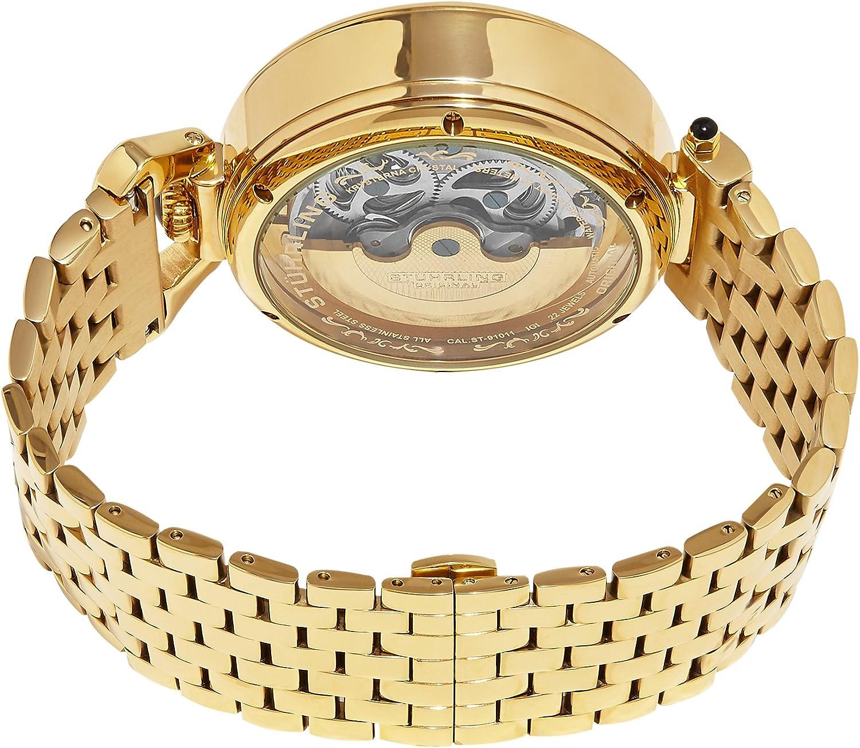 Stuhrling Original Men s 797.02 Legacy Analog Display Automatic Self Wind Gold Watch