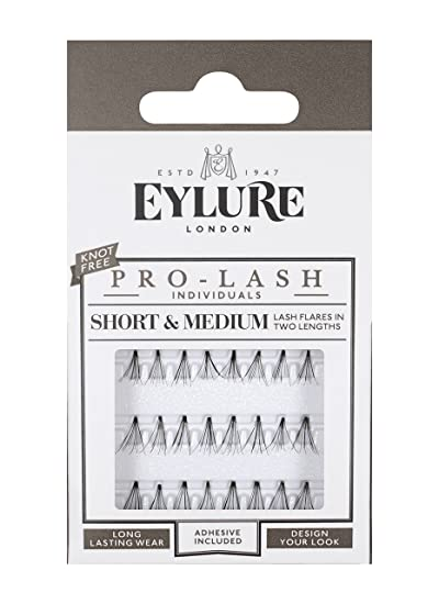 0419a8c07ce Amazon.com : Eylure Individual Lashes(knot free) - Semi-Permanent ...