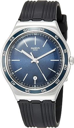 Swatch CAMARADE YWS428 Montre Bracelet pour hommes Point Culminant de Design