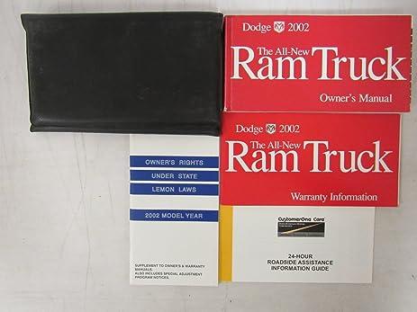 Amazon 2002 dodge ram truck owners manual dodge automotive 2002 dodge ram truck owners manual publicscrutiny Choice Image