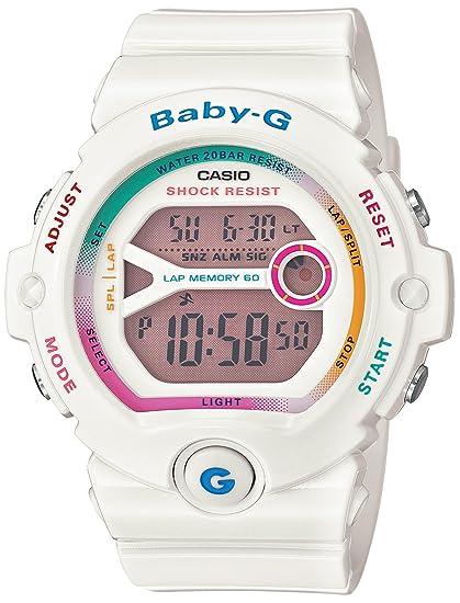 9a43869fbe6911 Casio BG6903-7C Women's Baby-G Digital Grey Dial 60 Lap Memory White Resin  Dive Watch: Amazon.ca: Watches