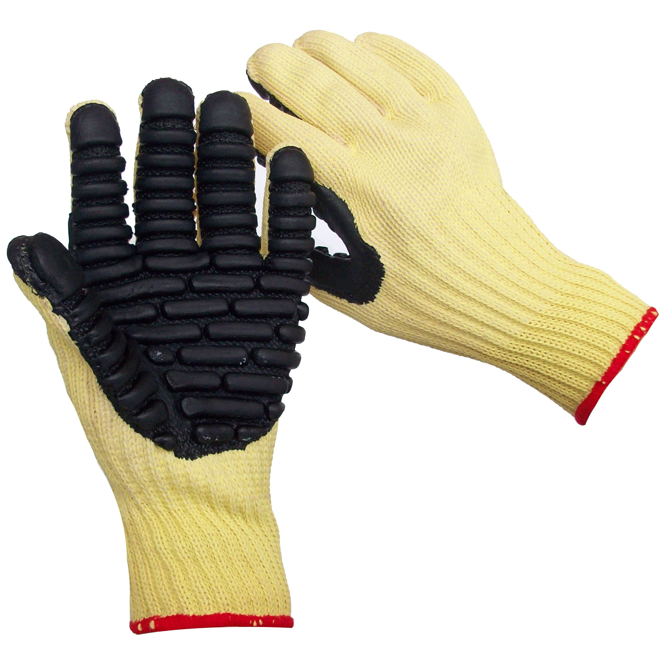 Impacto VI4740 Blade Anti-Vibration Anti Slash Glove, Yellow