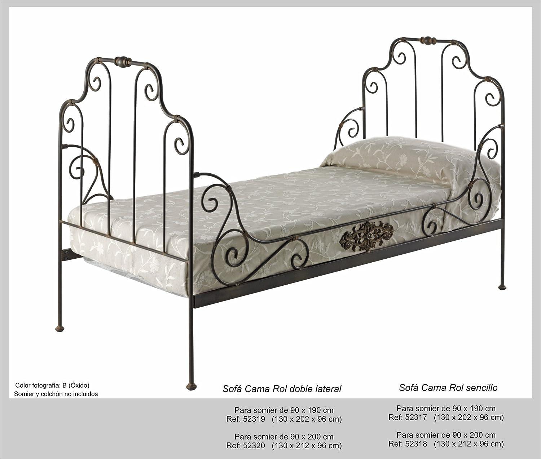 Art-Domus - 52317 - Sofa Cama Rol Doble. Colchón Y Someir No ...