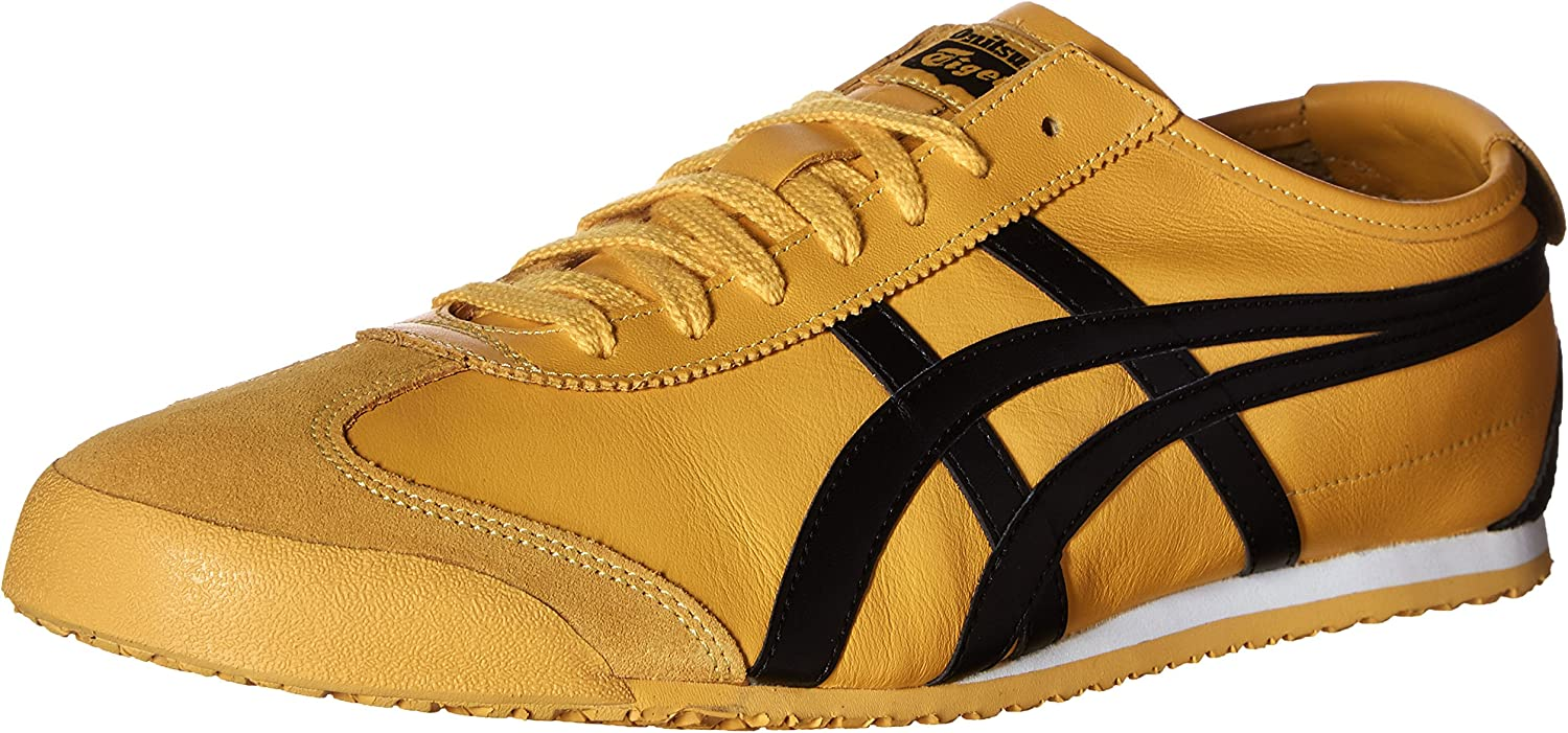 onitsuka tiger mexico 66 yellow black mens trainers canada