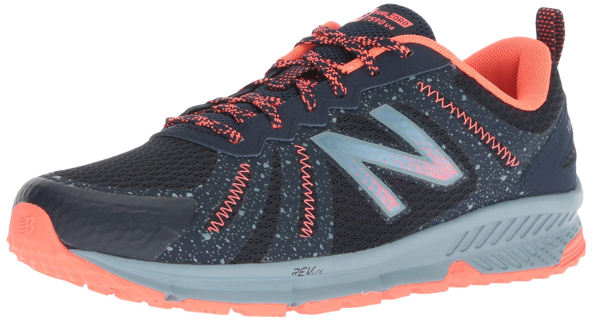New Balance Women's 590v4 FuelCore Trail Running Shoe, Galaxy, 5 B US