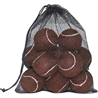 URBEST 12 Pack Advanced Training Tennis Balls Practice Balls for Novice, Pet Dog Playing Balls