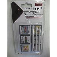 Kit Com 3 Canetas Stylus e 3 Estojos Para Jogos de Nintendo DS GameTraveler - SUIKA