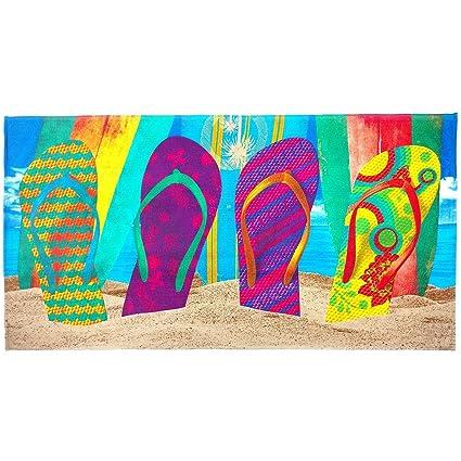 c982cad1d Amazon.com  Crystal Emotion Flip Flops Beach