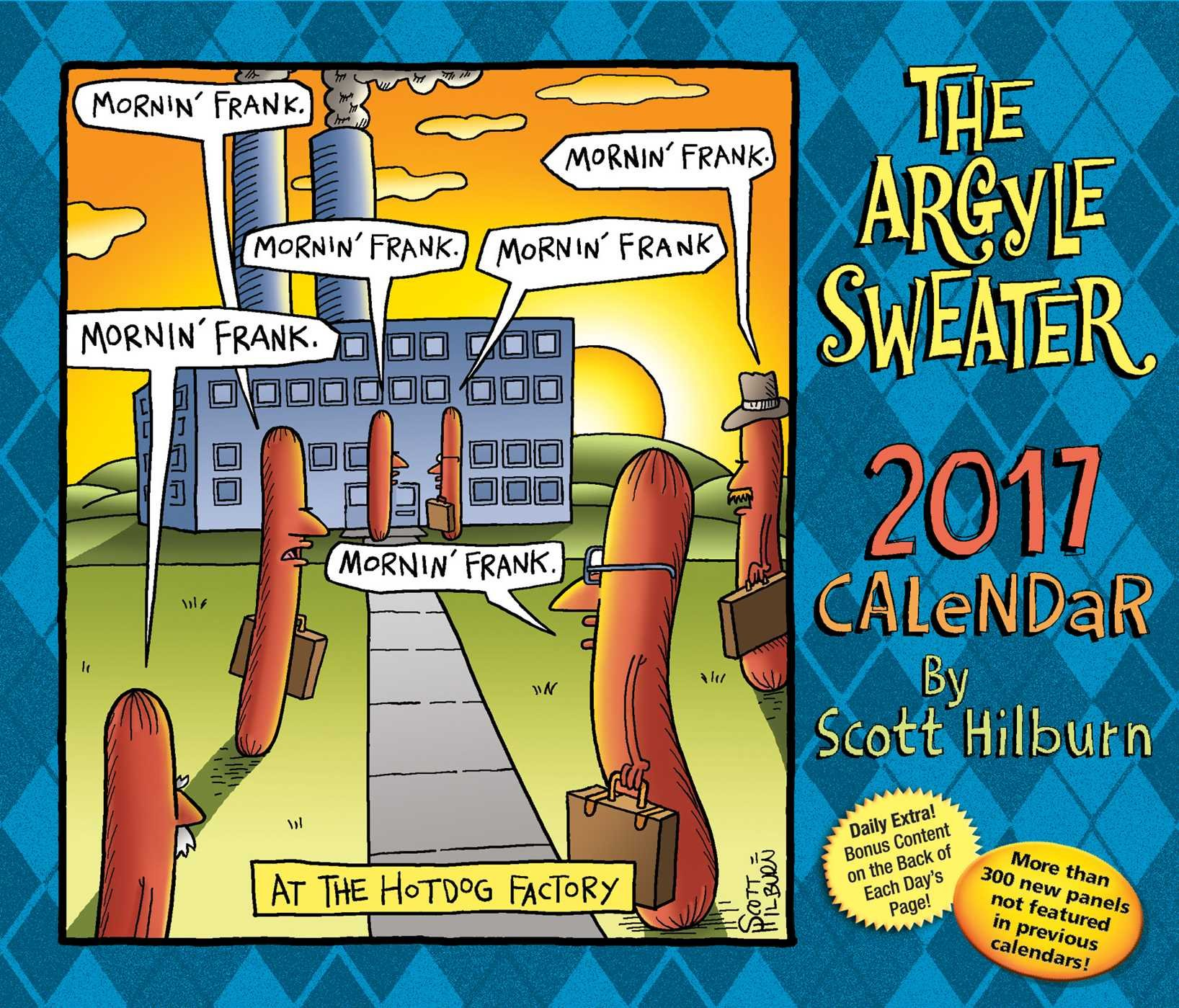 The Argyle Sweater 2017 Day to Day Calendar Scott Hilburn Amazon Books