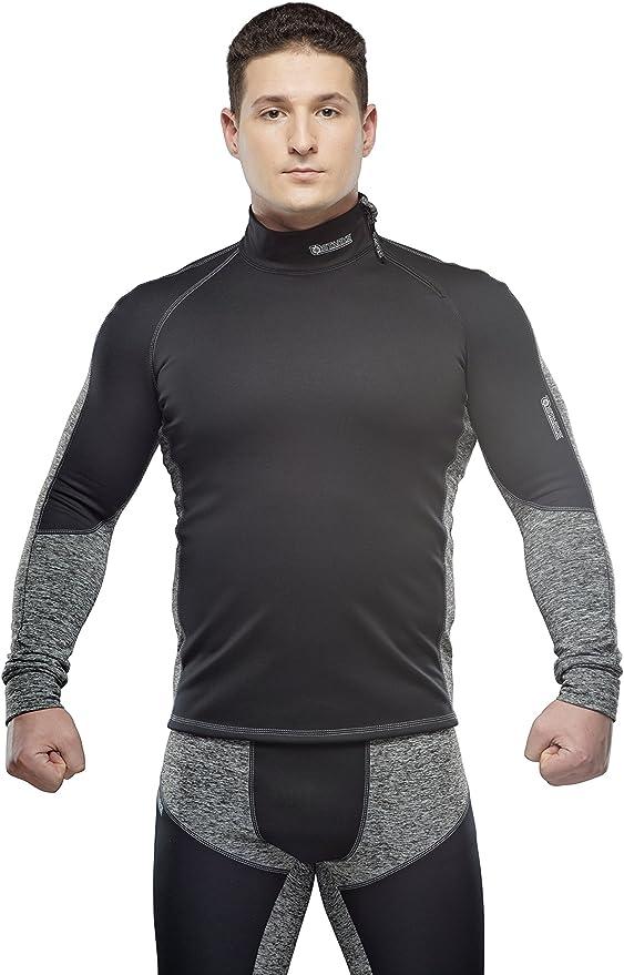TB27 Thermoshirt Langarm Ski Thermounterwäsche Funktionsunterwäsche Unterhemd