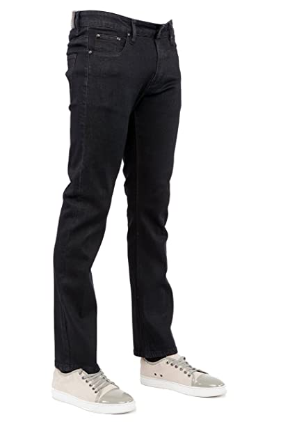 Perruzo Mens Slim Fit Stylish Stretch Jeans