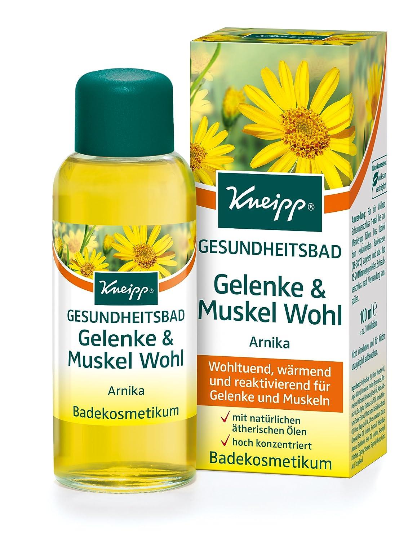 Kneipp, Olio da bagno all'arnica, con proprietà benefiche per muscoli e articolazioni, 100 ml Olio da bagno all' arnica Kneipp GmbH 1835