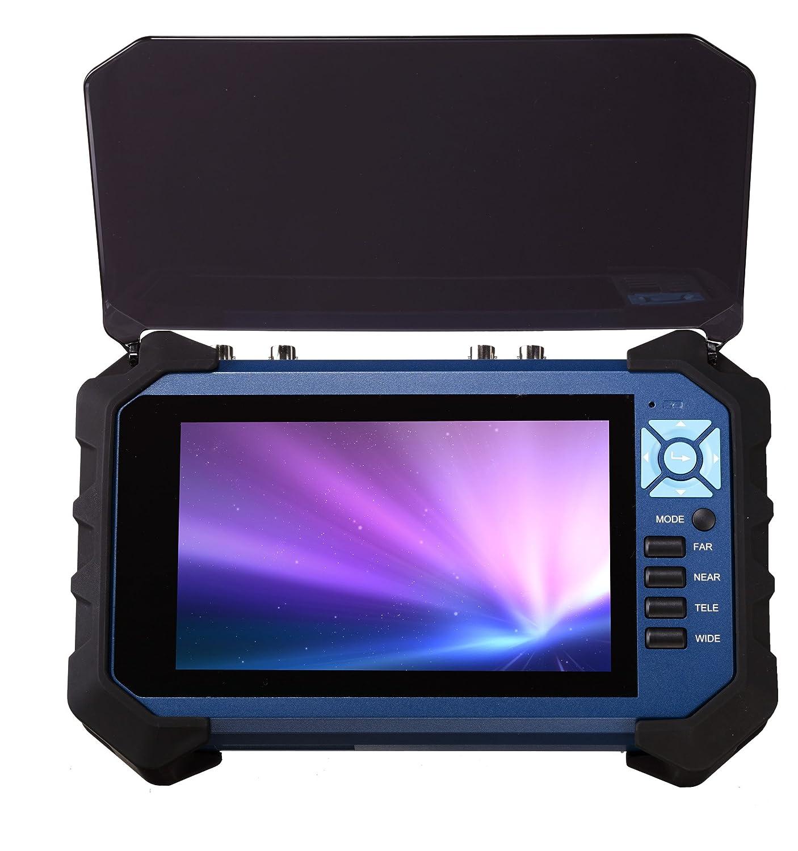 【業務用】防犯カメラ調整用モニター AHD/TVI/アナログ(CVBS)対応 工事現場用 バッテリー内蔵 シンプルな使い勝手で全国の監視カメラ工事店様へ100セット以上導入実績ありご好評いただいております。 ITM-7000B B01CZI9CCQ