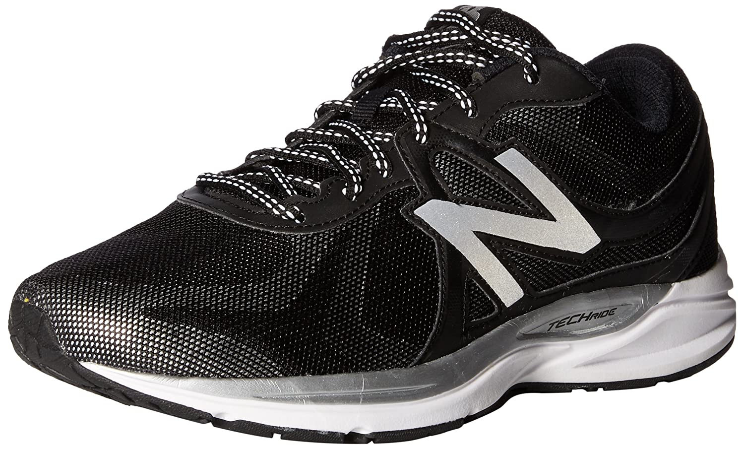 New Balance Women's W580LG5 Running Shoe B01CQV70VM 6.5 D US|Black