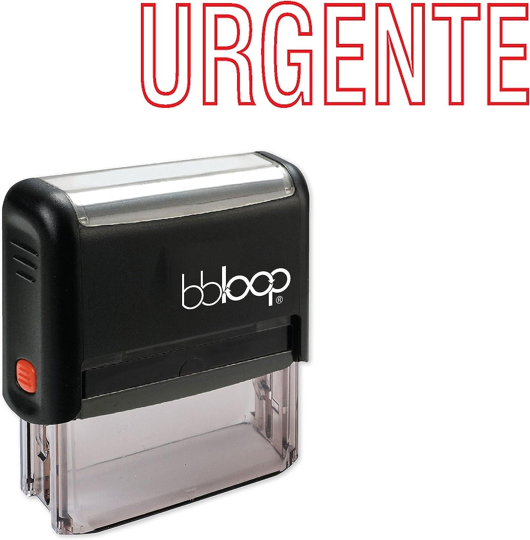 """Urgente"" Self-Inking Rubber-Stamp in Spanish"