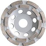 Diamant Tasse à Tasse de roue Ø 115mm, pour béton, sol, chape et Assemblée matériaux de construction Disque de ponçage roue de polissage