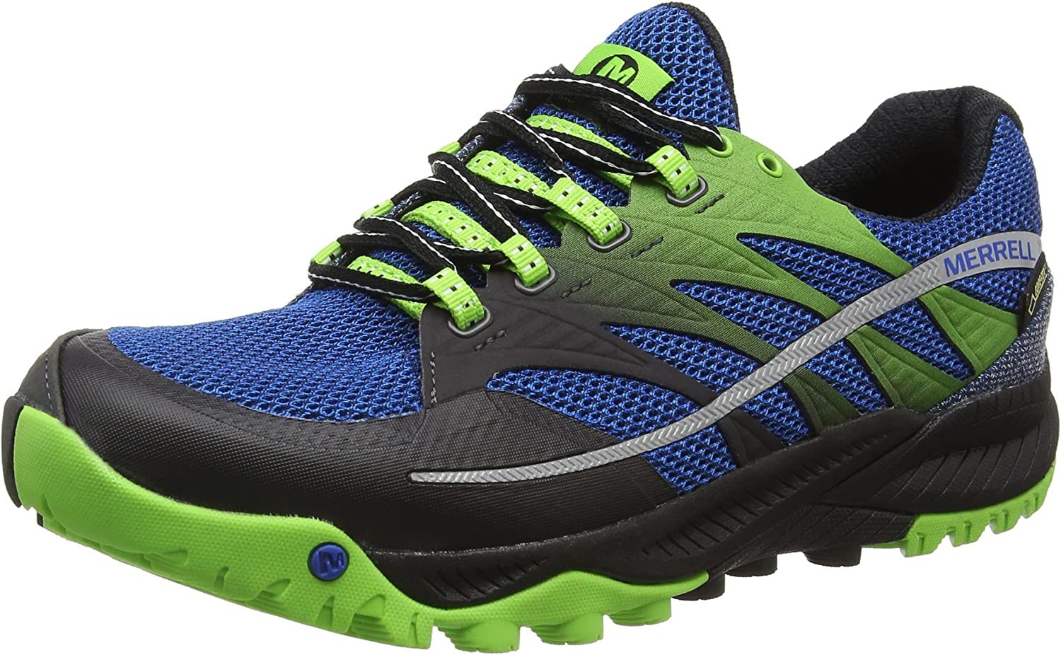 Merrell All Out Charge Gtx - Zapatillas de running Hombre, Blue ...