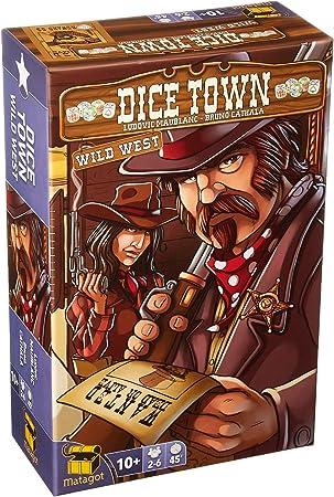Matagot SAS MATSDIC2 Dice Town Expansion - Juego de Mesa (Contenido en alemán): Amazon.es: Juguetes y juegos