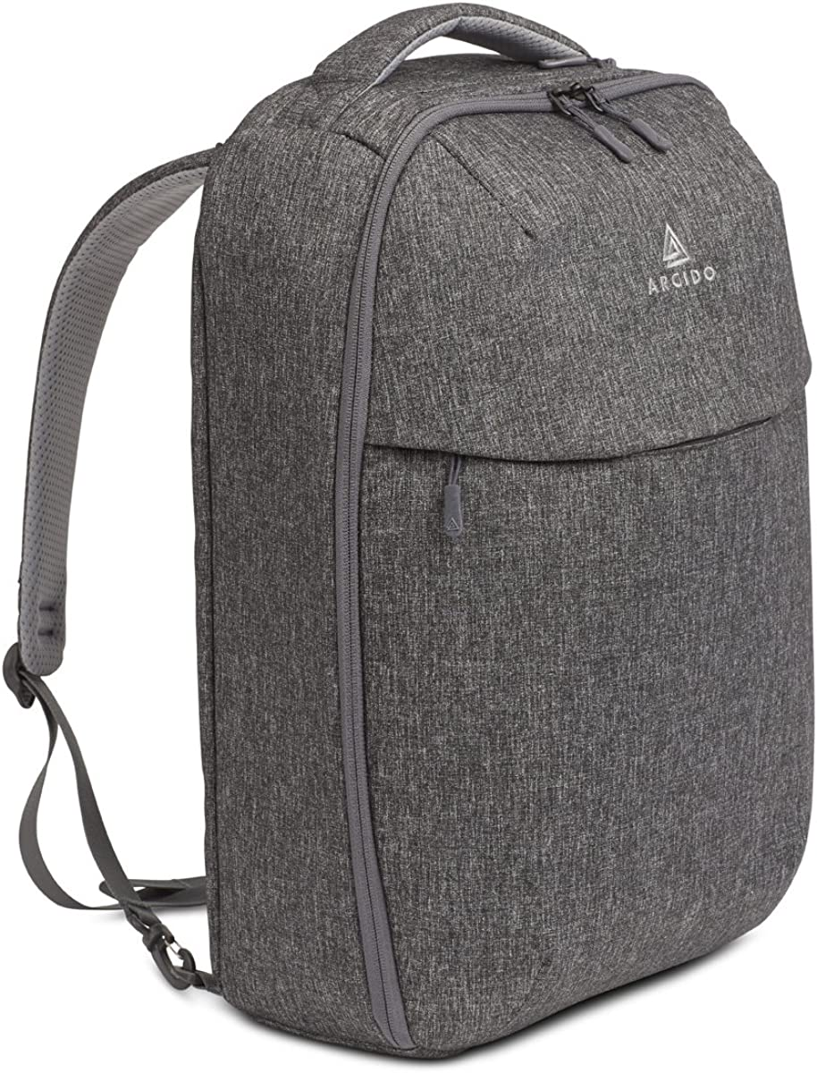 Arcido Saxon Convertible Backpack Travel - Hybrid Airline Approved Carry On Backpack/Day Bag Backpack/Backpack Briefcase - Fits Laptops Up To 15 Inches - 45 x 33 x 20 cm