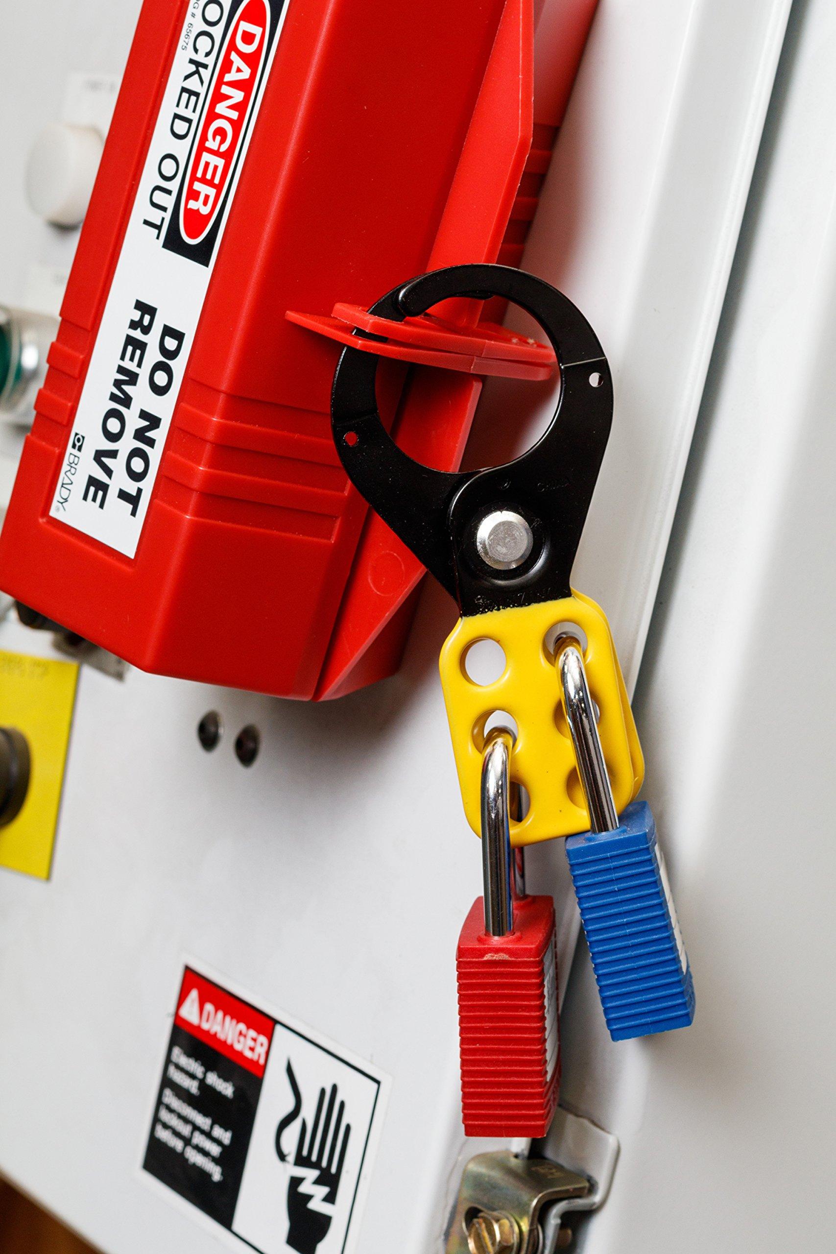 Brady Personal Electrical Lockout Toolbox Kit, Includes 2 Safety Padlocks by Brady (Image #2)