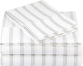 AmazonBasics juego de sábanas de microfibra - doble
